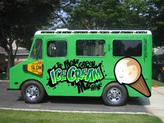 It's not Mean Joe Green- it's the Mean Green Ice Cream Machine!!!!!!!!