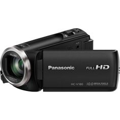 The Panasonic is a full HD camcorder with stabilized optical zoom, touch-enabled LCD & 5 axis hybrid optical image stabilization for maximum handheld stability. Dolby Digital, Leica, Distancia Focal, Wifi, Panasonic Camera, Usb, Camera Prices, Camera Deals, Signs