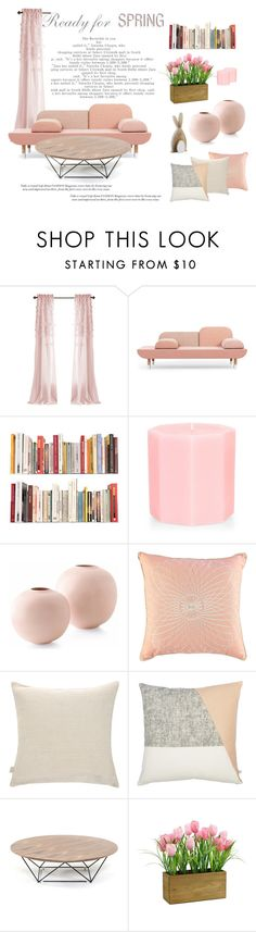 """""""Ready. For. Spring."""" by theartbug-home on Polyvore featuring interior, interiors, interior design, home, home decor, interior decorating, JAG Zoeppritz, Spring, Home and pastel"""