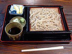 Buckwheat noodle そば