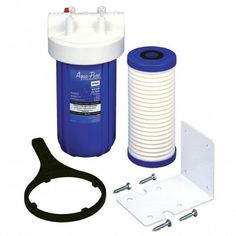 AquaPure AP801-C 20 GPM Water Sediment and Chlorine Filtering System Water Filtration Whole House Filter