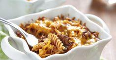 Recette de Mini cocottes de pâtes gratinées viande hachée et tomates. Facile et rapide à réaliser, goûteuse et diététique.