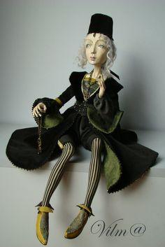 OOAK Art Doll Marta -