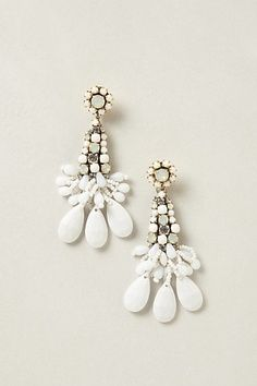 Moly Chandeliers #anthropologie #anthrofave - would be perfect with my rehearsal dinner ensemble