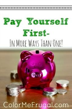Many folks out there are familiar with the concept of pay yourself first. But did you know that there is actually more than one way to pay yourself first? Find out how many ways YOU are paying yourself- and challenge yourself to improve :-)