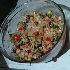 Mediterranean Zucchini and Chickpea Salad - Allrecipes.com