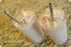 Better Than A Frappe COFFEE SMOOTHIE: 1 cup Yogurt (I used Vanilla), 1 cup Half&Half (I used Coconut Milk), 2 Tbsp Cocoa, 2 Tbsp Local Raw Honey, 1 Starbucks Via Ready Brew, 2 cups Ice. Add Ice after blending rest of ingredients...