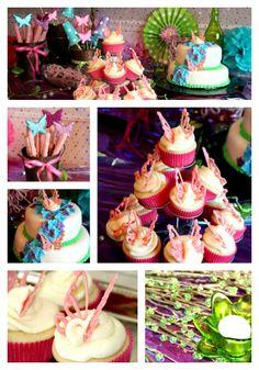 Fairy Party Ideas #fairy #fairyparty