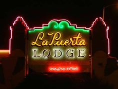 La Puerta Lodge, My Grandparents motel on route 66 in Albuquerque.