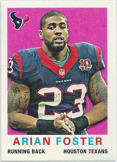 Arian Foster Houston Texans Topps 1959 Mini card #90