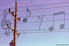 Electric power pole concerto
