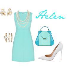 Helen by iris-belle on Polyvore featuring Diane Von Furstenberg, Gianvito Rossi, Aevha London, Chanel, Anne Klein