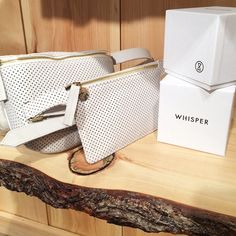 Clare Vivier white fanny packs just in time for Memorial Day.