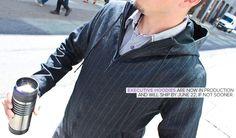 Gray Executive Pinstripe Hoodie