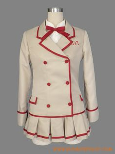 Yumeiro Patissiere Ichigo Amano Uniform Cosplay Costume