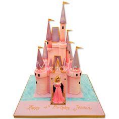 Fairy Castle Cake | Michelle Sugar Art