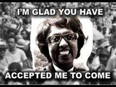 "Audio clip: Josephine Baker's speech at the March on Washington- ""This is the happiest day of my entire life. You are what the peoples of the world always wanted you to be."
