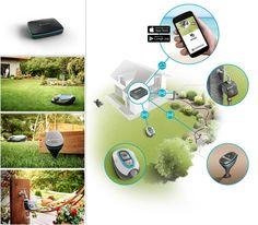 Das Gardena smart system arbeitet intern mit dem Kommunikationsprotokoll Lemonbeat und lässt sich bequem von Smartphone oder Tablet aus bedienen.