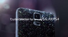 If you love to flash that bling bling, then Samsung has a Galaxy just for you. It is called the Samsung Galaxy Crystal Collection, which is made possible by shiny looking Swarovski crystals on the back. Samsung Galaxy S5, Galaxy 5, Android Ice Cream Sandwich, Latest Smartphones, New Mobile Phones, Mobile Gadgets, High Tech Gadgets, Samsung Mobile, Crystal Collection