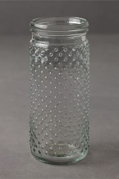 Hobnail Glass Jars from BHLDN