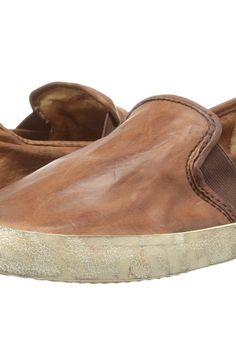 Frye Dylan Slip (Cognac Washed Smooth Vintage) Women's Shoes - Frye, Dylan Slip, 70043, Footwear Closed General, Closed Footwear, Closed Footwear, Footwear, Shoes, Gift - Outfit Ideas And Street Style 2017
