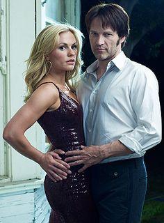 True Blood Season 2 Cast | True Blood: Stephen Moyer (Vampire Bill), Anna Paquin (Sookie ...