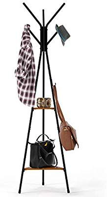 Amazon Com Homfa Coat Rack Stand 71 Inch With 9 Hooks And 2 Tier