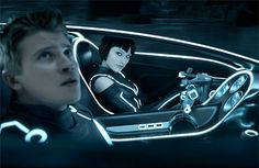 Sam and Quorra - TRON: Legacy