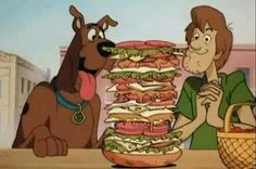 A shot of Scooby Doo and Shaggy from Scooby Doo on Zombie Island. Scooby and Shaggy is sharing a s. Scooby Doo Images, Scooby Doo Pictures, Shaggy Scooby Doo, Scooby Doo Mystery Incorporated, Hanna, Romantic Comedy Movies, Scooby Snacks, Pinturas Disney, Old Cartoons
