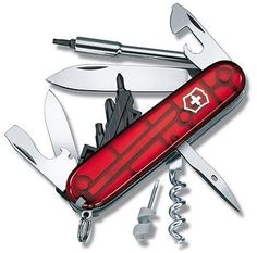 Victorinox-Cybertool-29-Red-Translucent-Swiss-Army-Knife-1-7605-T - neat,and i think the most compact of the cybertools  - about $120 on ebay
