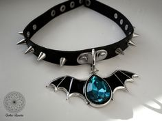 Gothic, occult, alternative accessories by GothicRosette Gothic Chokers, Gothic Aesthetic, Goth Jewelry, Magic Art, Colour Schemes, Necklaces, Bracelets, Rosettes, Occult