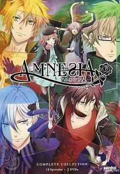 This exciting release from the romantic anime series AMNESIA includes all 12 episodes of the show, following the story of one young heroine who has lost all her memories except a few traumatic inciden