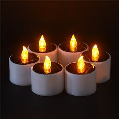 6 Pcs Yellow Solar Power LED Birthday Candles     Tag a friend who would love this!     FREE Shipping Worldwide     Buy one here---> https://www.cancoot.com/6-pcs-yellow-solar-power-led-birthday-candles/