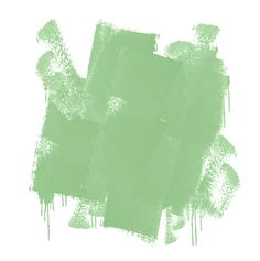 green paint *