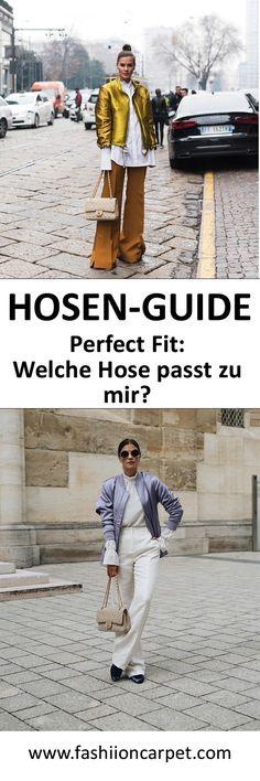 Hosen-Guide: Perfect Fit - Nina Schwichtenberg verrät euch, welche Hose zu euch passt & mit welchem Schnitt ihr eure Figur perfekt in Szene setzt! Mehr auf www.fashiioncarpet.com