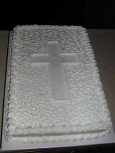 Baptism Cake — First Communion
