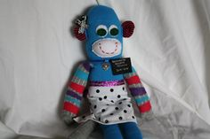 Sock Monkey Sister Missionary by TheButllerDidIt on Etsy