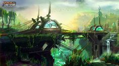 Ratchet And Clank Concept Art Environment Original concept are is from