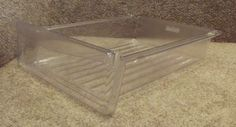 67001308 Amana Refrigerator Clear Meat Pan Drawer