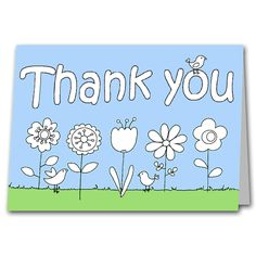 Childrens Colour your own Thank you Card for Teacher or Relative £2.25