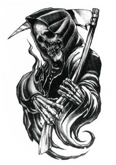 Download Free Grim Reaper Tattoos 48 horrifying grim reaper tattoo designs to use and take to your artist.
