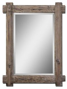 Uttermost 7635 Claudio Mirror Light Walnut Home Decor Mirrors Lighting