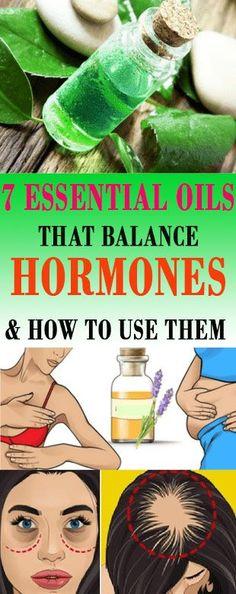 7 Essential Oils That Balance Hormoness & How To Use Them | Healthy Eon #essentialoils #hormones