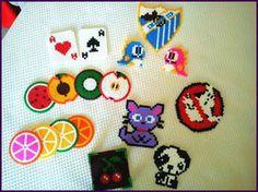 Various hama beads by Niisai