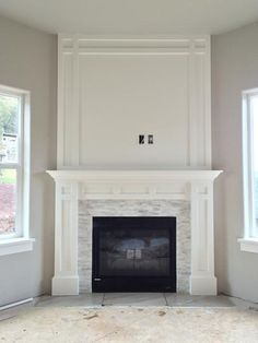 Jeffrey Court Churchill White Split Face in. x 13 mm Marble Mosaic Wall - The Home Depot - - Jeffrey Court Churchill White Split Face in. x 13 mm Marble Mosaic Wall - The Home Depot. Fireplace Redo, Farmhouse Fireplace, Living Room With Fireplace, Fireplace Design, Fireplace Ideas, Corner Fireplaces, White Fireplace Mantels, Craftsman Fireplace, Tile Around Fireplace