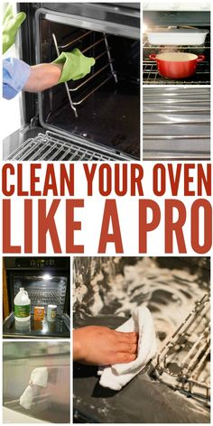 Getting rid of that caked-on grease on your oven door and those burnt-on food stains would never be that easy. Learn how to clean your oven like a pro in this article!