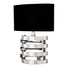 Eichholtz Boxter S Table Lamp - Nickel