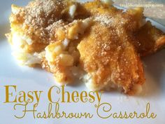 Easy Cheesy Hashbrow