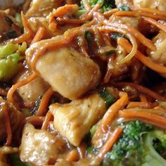 Crock Pot Chicken Lo Mein Recipe... id hold the better and use sesame seed oil & sobra or shirtake noodles