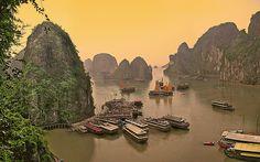 Vietnam-Halong Bay panorama | par denylf